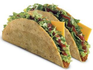 Two Tacos at Jack in the Box
