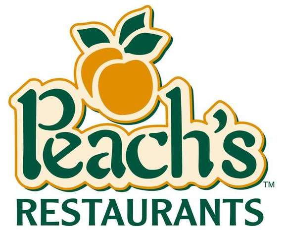 Logo at Peach's Restaurant