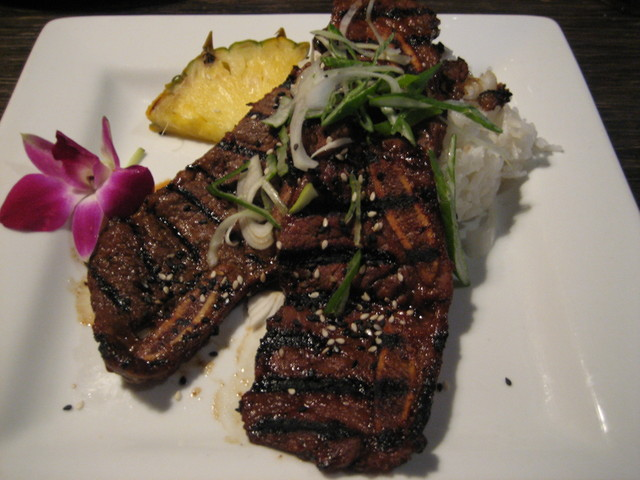 Kalbi short ribs at Sundance Kabuki Kitchen