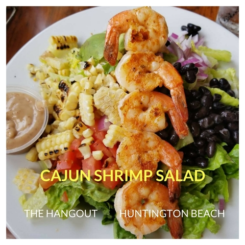 Shrimp Salad In Huntington Beach - Shrimp Salad at Hangout Too Southern Bar & Grill