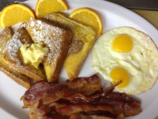 French Toast Special - Fench Toast Special at G & K Burgers