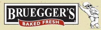 Logo at Bruegger's