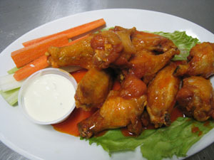 Chicken Wings at Shopper's Cafe Bar & Grille