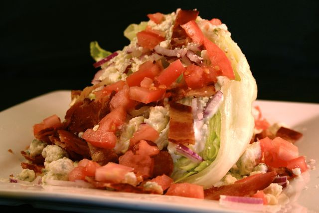 Photo By James Borg - Wedge Salad at Legends at Diablo Creek