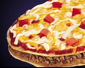 MEXICAN PIZZA at Del Taco