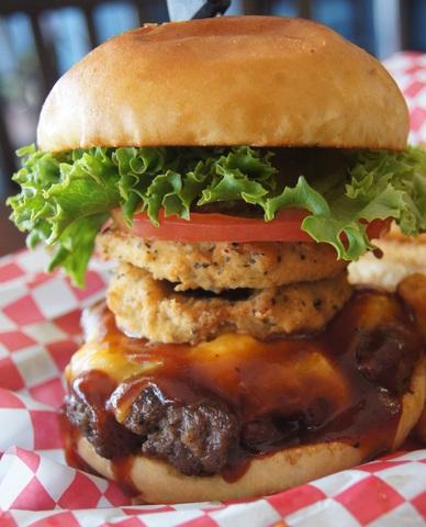 Joe's Burger at Joe's Oasis