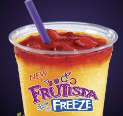 MANGO STRAWBERRY FRUTISTA FREEZE™ at Taco Bell