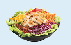 Crispy Chicken Salad at Dairy Queen