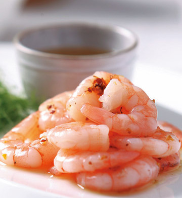 Crystal Shrimp at Shanghai Club Restaurant & Lounge