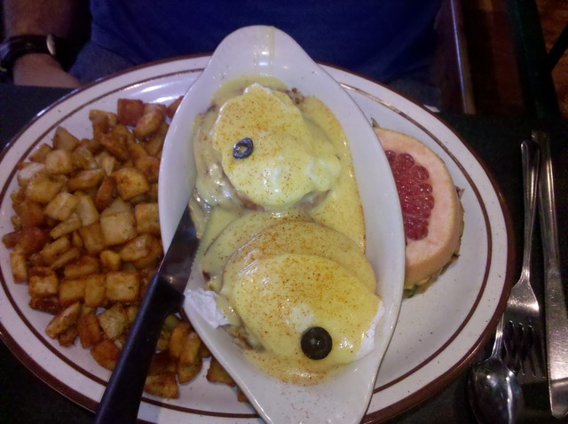 Eggs Benedict at The Egg & I