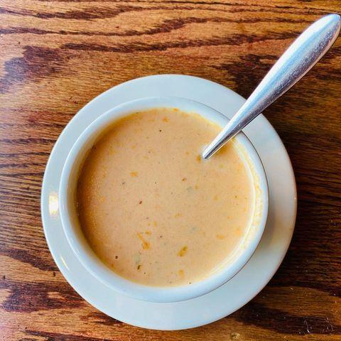Shrimp Bisque soup - Shrimp Bisque soup at Stockholm's