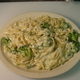 Your Choice of Pasta, Served with Creamy Alfredo Sauce - Broccoli Alfredo at Vino's