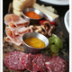 sampler plate .. duck prosciutto is very yummy - Charcuterie Plate at Sante Restaurant & Charcuterie
