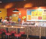 Interior at Taco Bell