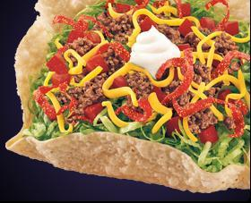 FIESTA TACO SALAD at Del Taco