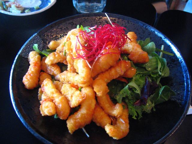 Spicy Calamari Salad at Edo Sushi