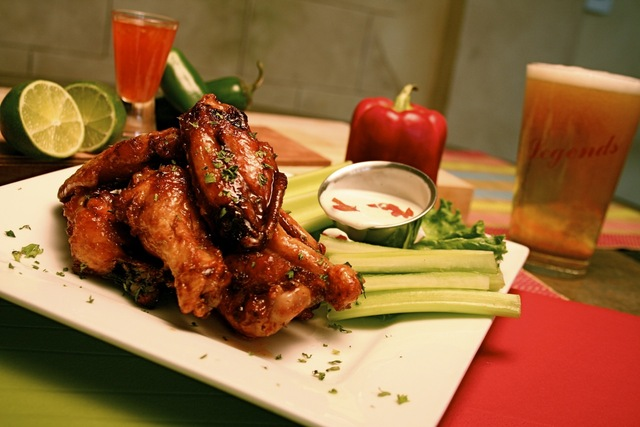 Photo By James Borg - Legends Famous Thai Wings at Legends at Diablo Creek