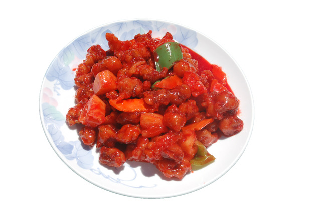 Sweet & Sour Pork at Shanghai Restaurant