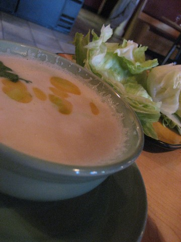 Tom Kha With Chicken at Lemongrass