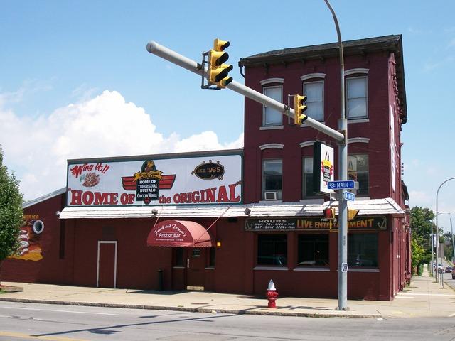 Exterior at Anchor Bar