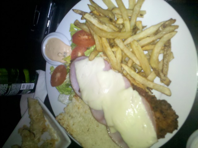 chicken sandwich at Dive Bar & Grille