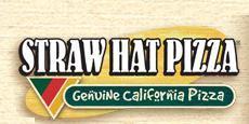 Logo at Straw Hat Pizza