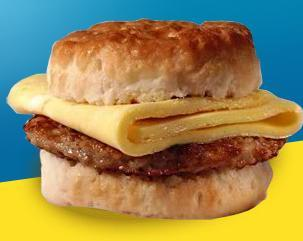 Sausage Biscuit at McDonald's