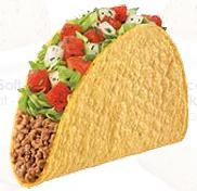 FRESCO CRUNCHY TACO at Taco Bell