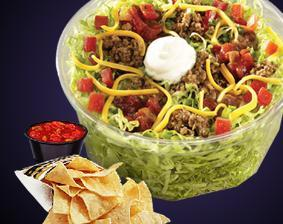 TACO SALAD EXPRESS at Del Taco