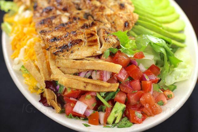 Southwest Chicken Salad at columbia restaurant