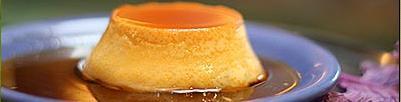 Caramel Flan at Straits Restaurant