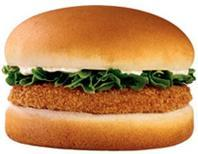 Chicken Sandwich at Jack in the Box