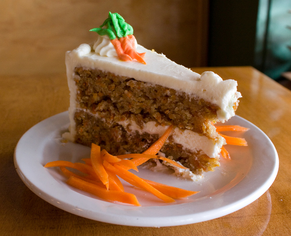 14kt. Carrot Cake at Nine Mile