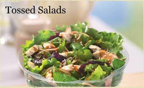 Sesame Chicken Salad at Bruegger's