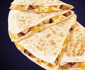 CHICKEN QUESADILLA at Del Taco