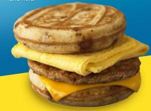 Sausage, Egg & Cheese McGriddles® at McDonald's