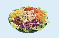 Grilled Chicken Salad at Dairy Queen
