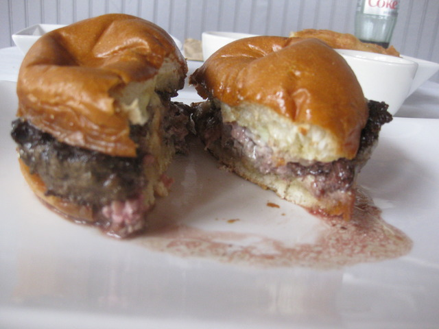 OH Yeah! - Truffle Burger at Umami Burger