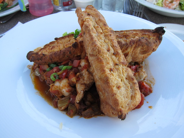Chicken & Shrimp Jambalaya at Parkers' Lighthouse