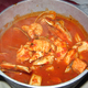 Th bucket Italian style cioppino at By-Th'-Bucket Bar and Grill