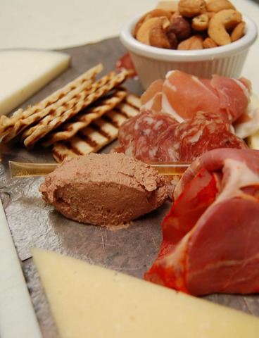 Add featured cured meats for only $8.00 - Plateau de Frommages at Chef's Palette