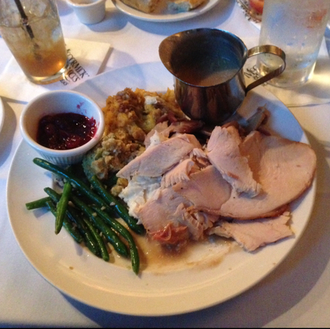 Turkey Dinner at McCormick & Schmick's