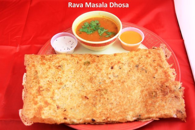 Rava Masala Dosa at Standard Sweets and Snacks