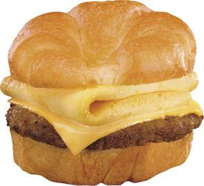 Sunrise Croissant™ at Carl's Jr.