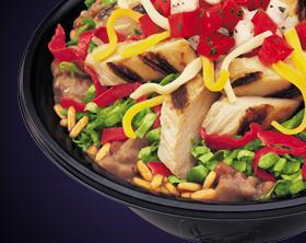 ZESTY CHICKEN BORDER BOWL® at Del Taco