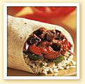 Fajita Ranchera Burrito at Qdoba Mexican Grill
