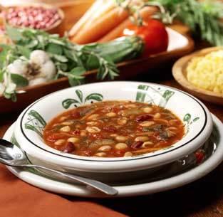 Minestrone at Isaac's Restaurant & Deli