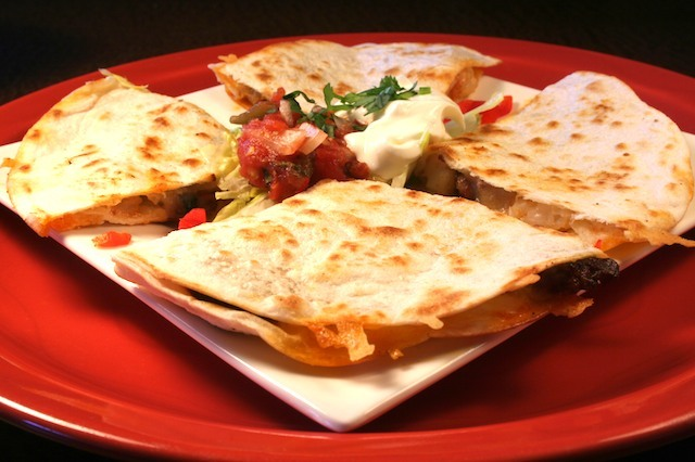 Photo By James Borg - Chicken Quesadilla at Legends at Diablo Creek