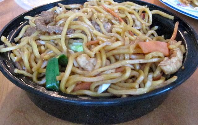 Lo Mein at Oriental Gourmet Restaurant