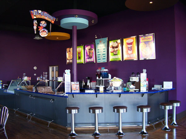 Interior at Dippin' Dots